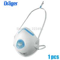 2015 1 Pcs drager original disposable masks particulate respirator anti-fog/haze/PM2.5 mask headband 1320V free ship ZSY012901