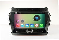 Pure Android 4.4 Car DVD Player For HYUNDAI santa fe/ix45 2013 with Capacitive Screen
