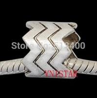 70pcs/lot Vnistar size in 10*11mm big hole column european bead PBD1045
