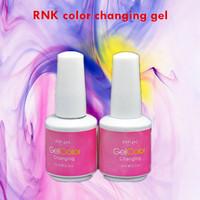 RNK uv gel nail polish gelishgel pigment Color changing varnish 12pcs/lot
