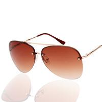 2015 new fashion Sunglasses Men  Designer Blue Mirrored Silver Mirror Vintage Sunglasses for dirver big box matal glassesJHSG010