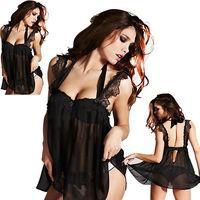 SEXY LACE LINGERIE Nightwear Underwear FREE G-STRING PLUS SIZE