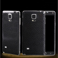 Serpentine Leather Pattern Guard Protector Film Foil Sticker For Samsung Galaxy S5