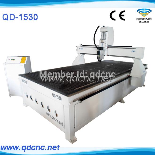 Cnc bois machine de gravure  cnc 3D machine de découpe QD  ~ Cnc Decoupe Bois