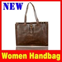 2105 New Women bag Fashion Handbag for women High capacity Retro vintage handbags Simulation crazy horsehide Handbags