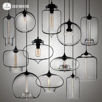 Moder Design Cheap Light Pendant Lights Home Lamp Hotel Glass Lights Simple Design