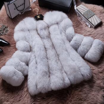 Кора зима 2014-2015 новый финляндия импортировала вся кожа фокс шуба специальная леди шуба