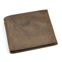 2015 designer men wallets famous brand style Crazy Horse genuine leather wallet for men