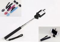 3PCS Selfie Monopod+Clip Holder+Bluetooth Camera Shutter Self-timer Remote Control Handheld For iPhone Samsung Android Phone