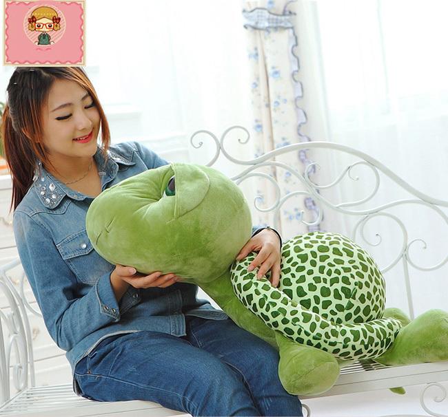 "37.4"" Huge large big tortoise/turtle Stuffed Animals Doll Soft Plush(China (Mainland))"