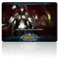 8kind size World of Warcraft mouse pad high quality gaming mouse rubber Animation cosplay Sylvanas WOW Gaming mice pad
