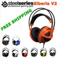 Steelseries Siberia V2 Gaming Headphones Steel Series Siberia V2 Gaming Headset Natus Vincere Edition Orange/Blue Without BOX