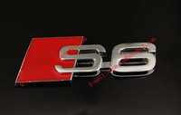Steel S3 S5 S6 S8  Car Styling High Quality Car Stickers And 3D Car Sticker , car decor stickers