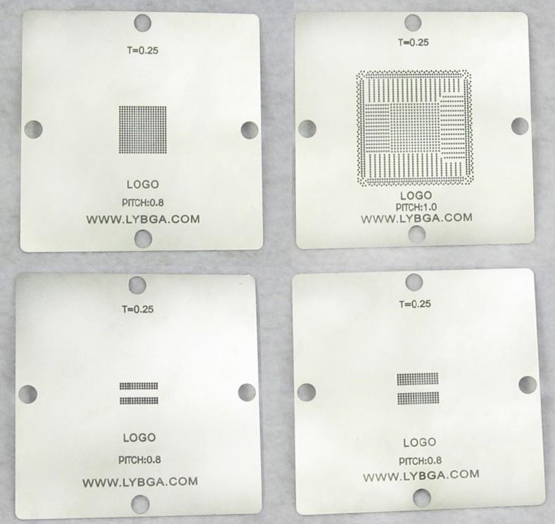 Free shipping! bga reballing stencil 80mm*80mm PS4 stencil CXD90025G, CXD90026G, K4G41325FC GDDR5 RAM, K4B2G1646E DDR3 SDRAM(China (Mainland))