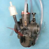 PWK 26mm Flat Slide Carburetor Kit UNIVERSAL 2/4 Stroke 80cc 100cc 125cc