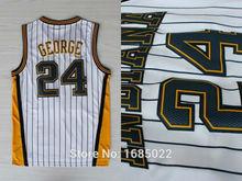 Высокое качество! 24 пол джордж версия 30 баскетбол джерси, 24 джордж вышивка логотипов джерси, бесплатная доставка