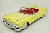 1959 Cadillac Eldorado Yellow Diecast Vintage Car Model 1:32 Scale Die cast Toy SD9