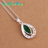 P319 Hot sale nickel lead free  silver plated pendant necklace fashion jewelry