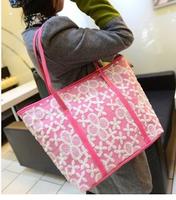 Free shipping 2015 new fashion handbags shoulder bag ladies hand crochet Tilei Si multicolor