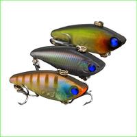 Free Shipping L061M Mix 3 pcs /set 4.0cm/4g VIB Fishing Lure fishing spoon metal fishing lure bait spool