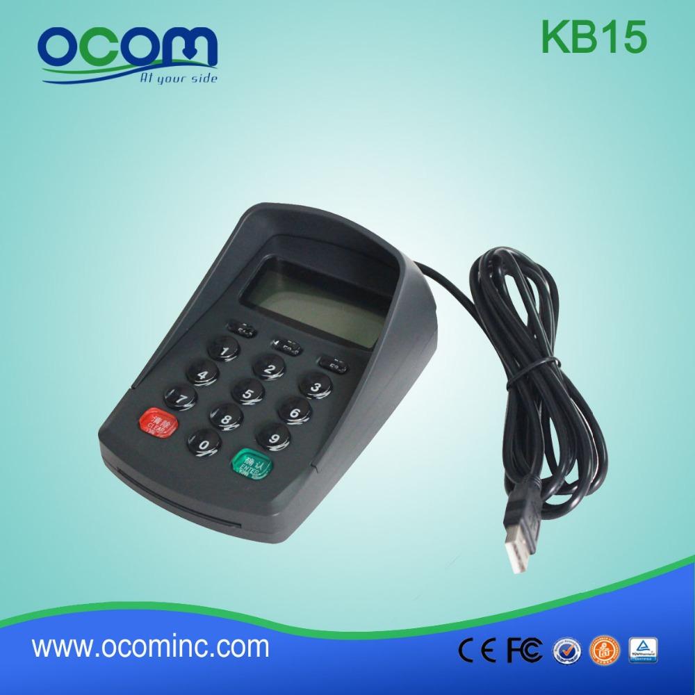 Multiple Interfaces Mini Numeric Keypad pinpad(China (Mainland))