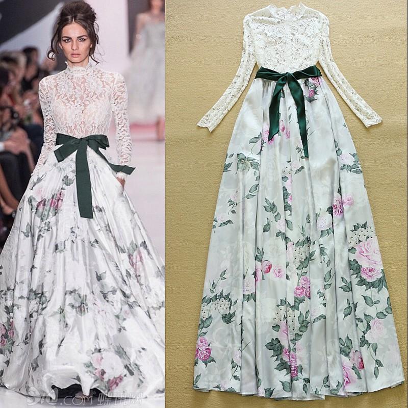 Фото модных платьев для шитья