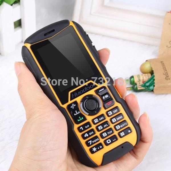 Original Huadoo H1 IP68 Waterproof Phone Rugged Dustproof Shockproof Flashlight FM Dual SIM Cards GSM MP3 Player Cell X6 Phone(China (Mainland))
