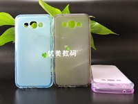 New Slip Flexible TPU Protective soft Silicon Case cover  For Samsung Galaxy E7 E700  phone 5PCS/LOT