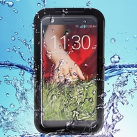IP-68 100% Waterproof Dustproof Snowproof Shockproof Swimming Cover Case For LG G2 Mobile Phone Protective Water Proof 2015 New