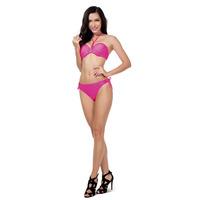 Sexy Swimwear Halter Bandeau Top Cropped Bikini Set Maillot De Bain Women Swimsuit