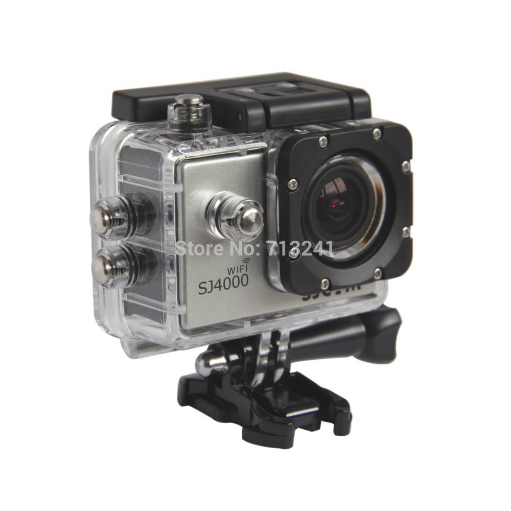 SJCAM SJ4000 Wi-Fi 1.5'' TFT 12.0 MP 2/3 CMOS 1080P HD Mini Outdoor Sport Digital Video Camera Silver(China (Mainland))