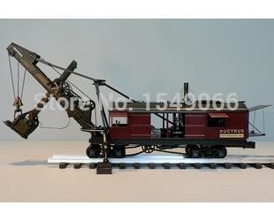 AceCool \TWH1: 48 Bucyrus steam shovel dug BucyrusSteam Shovel car truck model(China (Mainland))