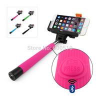 Monopod Selfie Stick Telescopic  Bluetooth Wireless Remote Mobile Phone holder for iphone Samsung hHTC