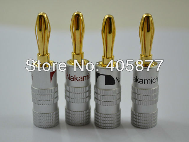 Разъем Nakamichi Banana Plug 8 /! 4 Nakamichi 24K Spade