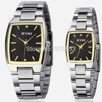 EYKI New Stainless Steel Watch,Men's & woman Business Waterproof Watch,Free shipping