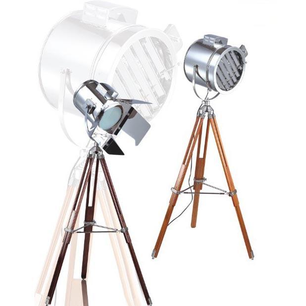 Achetez en gros projecteur de tr pied en ligne des - Lampadaire trepied style projecteur de cinema ...