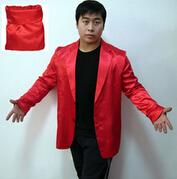 Bag to Suit ,stage magic illusions, novelties party/jokes,silk magic,cloth magic(China (Mainland))