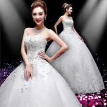 Entrega gratuita! moda vestido de mujer dulce encaje precioso alta calidad atractiva princesar vestido sin mangas de novia vestido de novia / vestido de baile(China (Mainland))