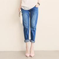Jeans Boyfriend 2015 Spring Women Jeans Loose Harem Pants Vintage Denim Jeans Roll up Cross Pants Plus Size For Women 1501188