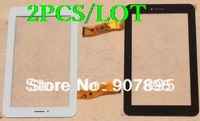 2PCS 7inch Capacitive Touch screen panel for Freelander PX1 PX2 TE-0700-0030 Newman M78 F7 F76 3G Tablet PC Mobile phone