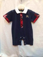 NEW Baby Gentleman One-Piece&Rompers Long sleeve Romper,Boy's Casual Cotton Jumpsuits/Gilr's Overall++wholesale