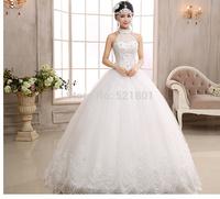 ball gown vintage wedding dress new 2015 lace wedding dresses vestidos de novia fashionable bride dresses robe de mariage 731