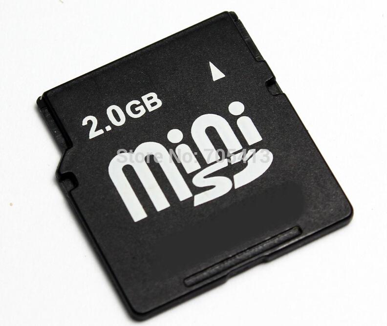 2GB MINISD Card miniSD card MINI SD Memory CARD(China (Mainland))