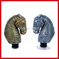 New Retro Style Cool Horse Head Manual Transmission Gear Shift Knob Gear Level Knob Gear Head