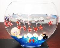 Hot!European-style home decorations aquarium ornaments decorations Child fish tank water landscape Glass crafts Decoration 12pcs