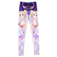 Women 2015 Legging Crying Sailor Moon Tsukino Usagi Printed Leggings Fitness Pants Gym Sport Jeggins S106-641