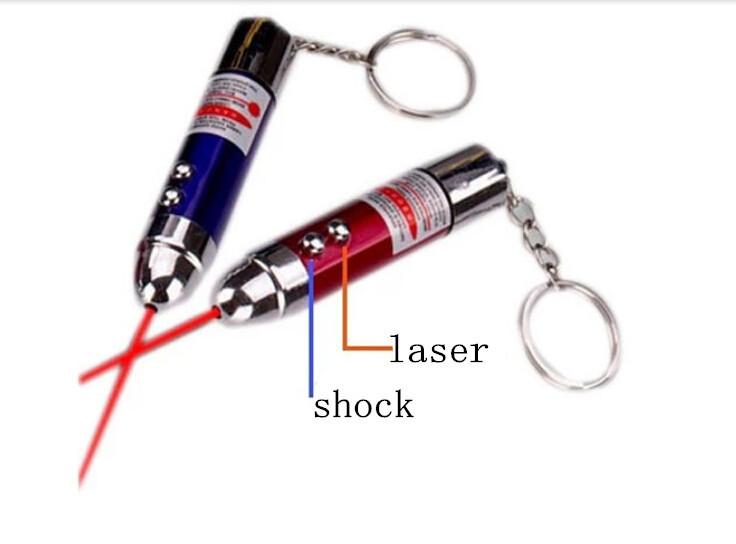 April Fools' Day prank toy, shock flashlight random color(China (Mainland))