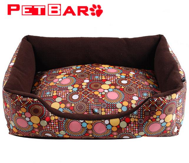 2015 Fashion Print Soft Big Dog Beds Luxury Pet House Large Dogs Sofa Room Kennel Cat Bed Cama Para Cachorro XL GYP-GC-22(China (Mainland))