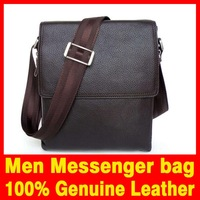 2015 New Men bag Fashion Classical Style Men messenger bag 100% Genuine Leather bag for men Shoulder bags