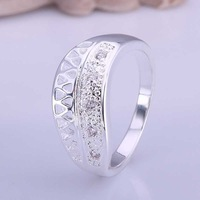 Wholesale 925 Silver Ring 925 Silver Fashion Jewelry,qwsdef Ring Best Service SMTR423